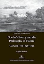 Goethe's Poetry and the Philosophy of Nature