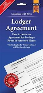 Lodger Agreement Form Pack