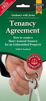 Unfurnished Tenancy Agreement Form Pack (Scotland)