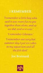 I Remember af Joe Brainard
