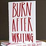 Burn After Writing af Sharon Jones