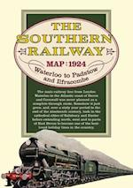 Southern Railway Route Map (Old House)
