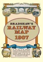 Bradshaw's Railway Folded Map 1907 (Old House)
