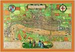 Map of Elizabethan London, 1572 (Old House)