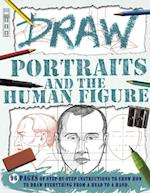Draw Portraits and the Human Figure (Draw Book House)