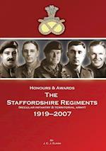 Honours & Awards the Staffordshire Regiment 1919-2007