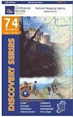 Cork, Limerick, Tipperary, Waterford (Irish Discovery Series, nr. 74)