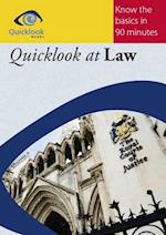 Quicklook at Law (Quicklook Series)
