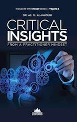 Critical Insights from a Practitioner Mindset af Ali M. Al-Khouri