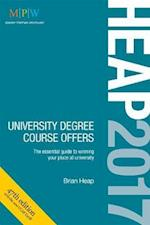 Heap 2017: University Degree Course Offers af Brian Heap