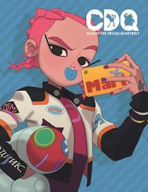 Bog, paperback Character Design Quarterly 3 af 3DTotal Publishing
