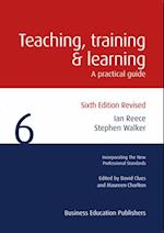 Teaching, Training and Learning