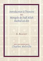 Introduction a l'Histoire des Mongols de Fadl Allah Rashid ed-din