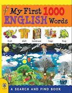My First 1000 English Words (My First 1000 Words, nr. 1)