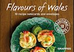 The Flavours of Wales Notecards