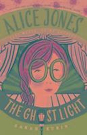 Bog, paperback Alice Jones: The Ghost Light af Sarah Rubin
