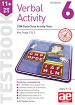 11+ Verbal Activity Year 5-7 Testbook 6: CEM Style Cloze Activity Tests af Stephen C. Curran