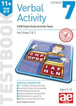 11+ Verbal Activity Year 5-7 Testbook 7: CEM Style Cloze Activity Tests af Stephen C. Curran