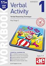 11+ Verbal Activity Year 3/4 Workbook 1