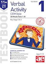 11+ Verbal Activity Year 5-7 Cem Style Testbook 1