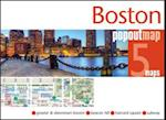 Boston PopOut Map (Popout Map S)