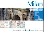 Milan PopOut Map (Popout Map S)