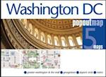 Washington DC PopOut Map (Popout Map S)