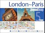 London & Paris PopOut Map (Popout Map S)