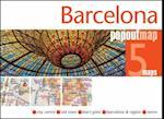 Barcelona PopOut Map (Popout Map S)