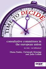 Consultative Committees in the European Union: No Vote - No Influence? af Julia Gollub, Diana Panke, Christoph Honnige