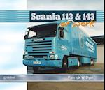 Scania 113 and 143 at Work (At Work Series)