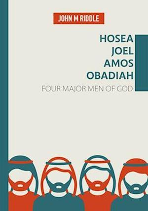 Bog, paperback Hosea, Joel, Amos, Obadiah af John Riddle