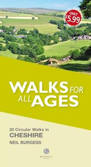 Bog, paperback Walks for All Ages Cheshire af Neil Burgess