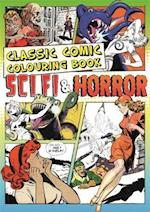 The Classic Comic Colouring Book (Creative Colouring for Grown Ups)