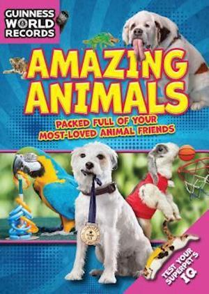 Bog hardback Amazing Animals af Guinness World Records