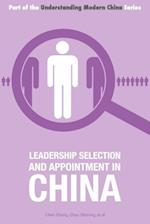 Leadership Selection and Appointment in China