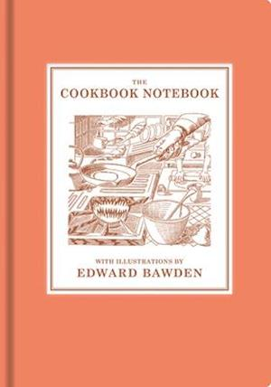 Bog, hardback The Cookbook Notebook af Edward Bawden