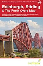 Edinburgh, Stirling & the Forth Cycle Map 40