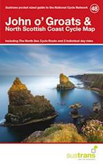John O'groats & North Scottish Coast Cycle Map 48