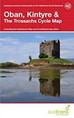 Oban, Kintyre & the Trossachs Cycle Map 42