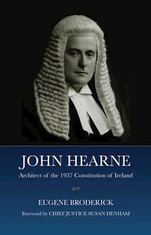 Bog, hardback John Hearne af Eugene Broderick
