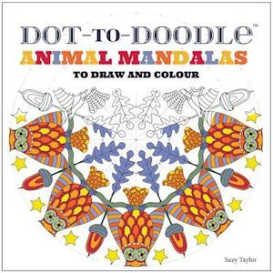 Bog, paperback Dot-to-Doodle: Animal Mandalas to Draw and Colour af Suzy Taylor