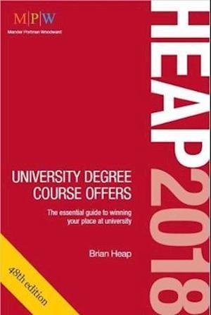Bog, paperback Heap 2018: University Degree Course Offers af Brian Heap
