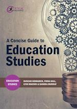 A Concise Guide to Education Studies (Education Studies)