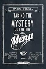 Taking the Mystery out of the Menu