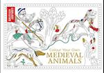 Colour Your Own Medieval Animals (Colouring Books)