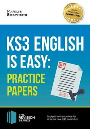Bog, paperback KS3: English is Easy - Practice Papers. Complete Guidance for the New KS3 Curriculum (Revision Series) af Marilyn Shepherd