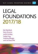 Legal Foundations 2017/2018 (CLP Legal Practice Guides)
