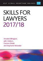 Skills for Lawyers 2017/2018 (CLP Legal Practice Guides)
