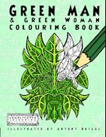 Green Man and Green Woman : Colouring Book af Complicated Colouring